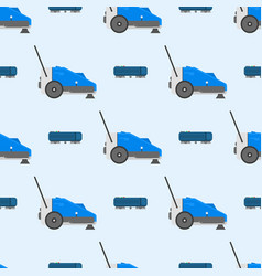 Professional cleaning equipment seamless pattern vector