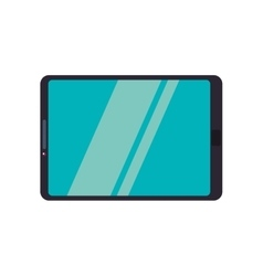 Tablet gadget technology communication icon vector