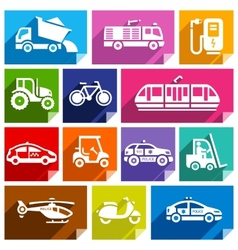 Transport flat icon bright color-04 vector