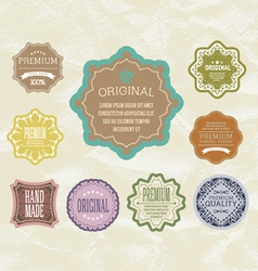 Vintage label for retro banners eps 10 vector