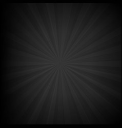 Black texture with sunburst vector