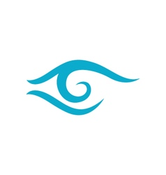Eye care logo design vector