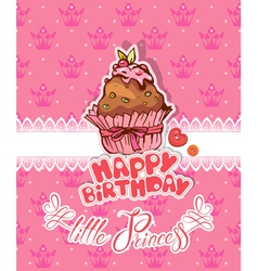 cakes card 2 380 vector image vector image