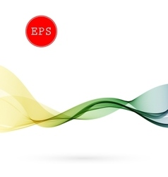 Color abstract spectrum smoky wave vector
