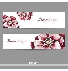 RedBanner vector image vector image