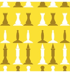 Seamless background with chess vector