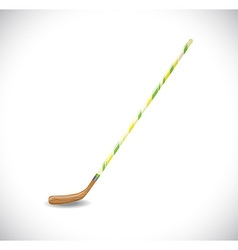Isolated hockey stick vector