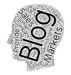 Company blogs text background wordcloud concept vector