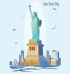 statue of liberty image vector image
