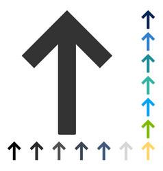 Up arrow icon vector