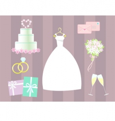 Wedding clip art vector