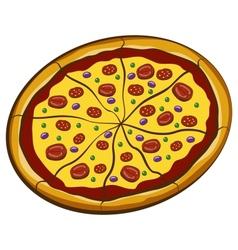 Big Pizza vector image