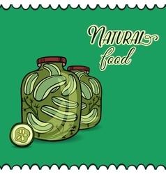 PickleCucumbers vector image