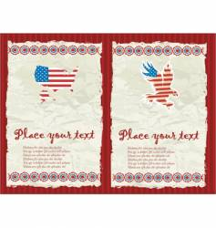 usa textured backgrounds vector image