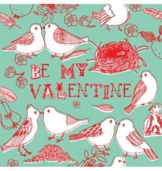 valentine6 vector image vector image