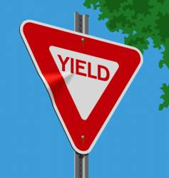 Roadsign-yield vector
