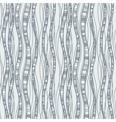 Seamless pattern of wavy lines vector