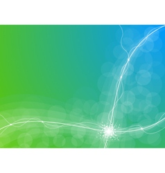 Abstract energy background vector