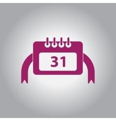 Calendar christmas calendar vector