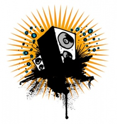 sound background vector image vector image