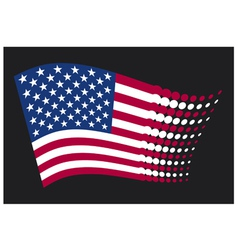 Usa flag - united states of america vector