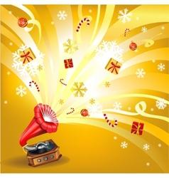 Holiday splash vector image