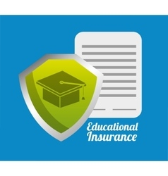 Insurance icon design vector