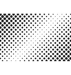 Huge dots halftone background overlay vector