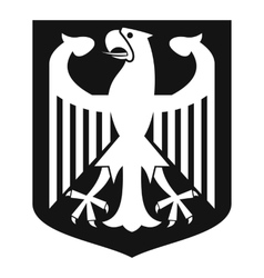 Coat of Arms of Germany icon simple style vector image vector image