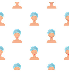 Cosmetic plastic surgery icon in cartoon style vector