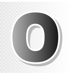 letter o sign design template element new vector image vector image