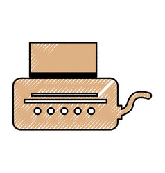 Video game console icon vector