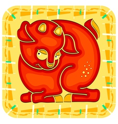 Year of the Sheep Chinese horoscope animal sign vector image vector image