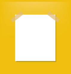 Blank note vector