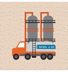 Industry truck design vector