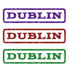 Dublin watermark stamp vector