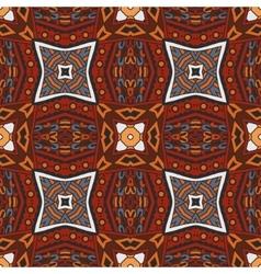 Ethnic tribal seamless geometric print vector