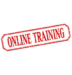 Online training vector