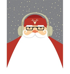 Santa dj vector