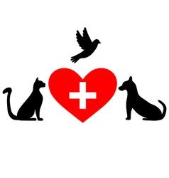 Veterinary symbol vector
