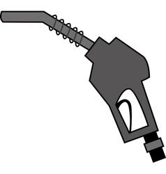 pump nozzle vector image