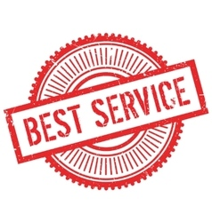 Best service stamp vector