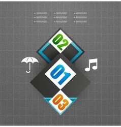 Hi-tech glossy futuristic shapes vector