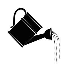 waterin can for garden vector image vector image