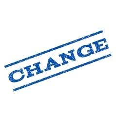 Change watermark stamp vector