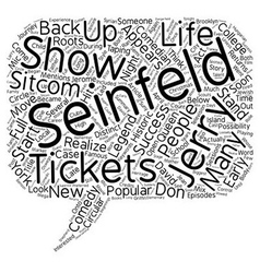 Jerry seinfeld tickets a comedy legend returns to vector