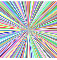 Radial stripes background - ray burst graphic vector