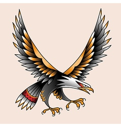 Tattoo eagle vector