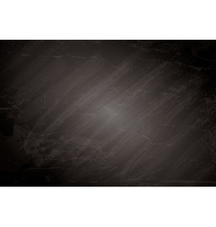 Black chalkboard background vector image vector image