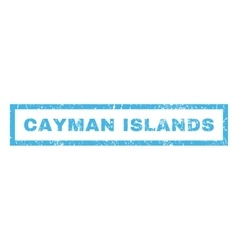 Cayman islands rubber stamp vector